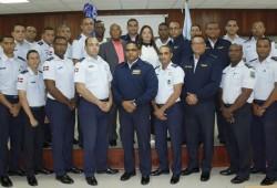Comandancia General Fuerza Aérea de República Dominicana auspicia curso. Busca capacitación investigadores de accidentes aéreos.