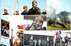 Ministerio de Defensa realiza izada de bandera y ceremonial en...